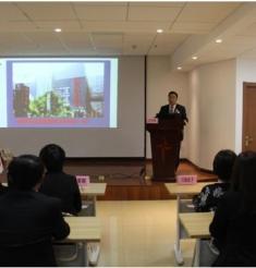 日本大阪齿科大学校长川添尧彬教授一行到我院参访