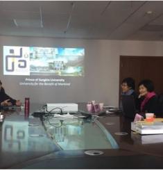 泰国宋卡王子大学Udom教授一行到我院参访