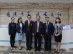 泰国瓦莱岚大学副校长与牙学院院长到我院参访