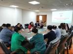 我院组织医护人员参加新型冠状病毒感染的肺炎疫情防控工作部署会暨防控知识培训