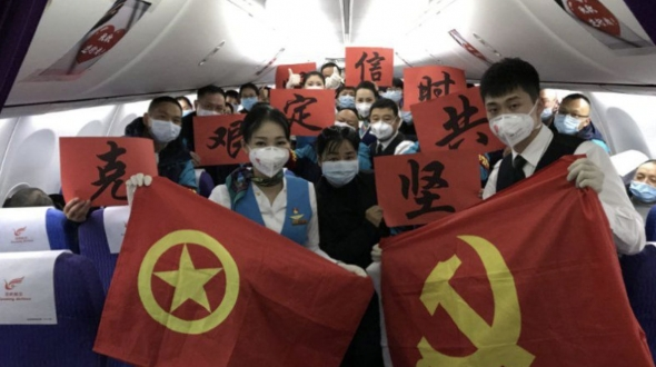 """【战""""疫""""日记】初到武汉的这一夜,我们彻夜未眠,我们是昆医口腔的白衣战士,骄傲!"""